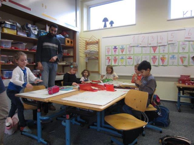 Adventsbasteln Grundschule Eidertal